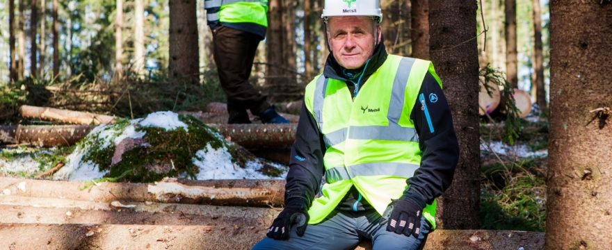 Metsien suojelu käynnissä…